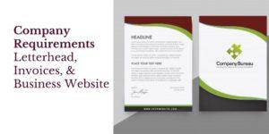 Irish company requirements