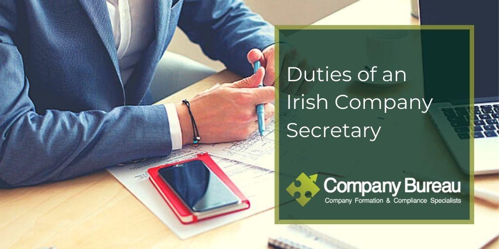 rish Company Secretary Duties