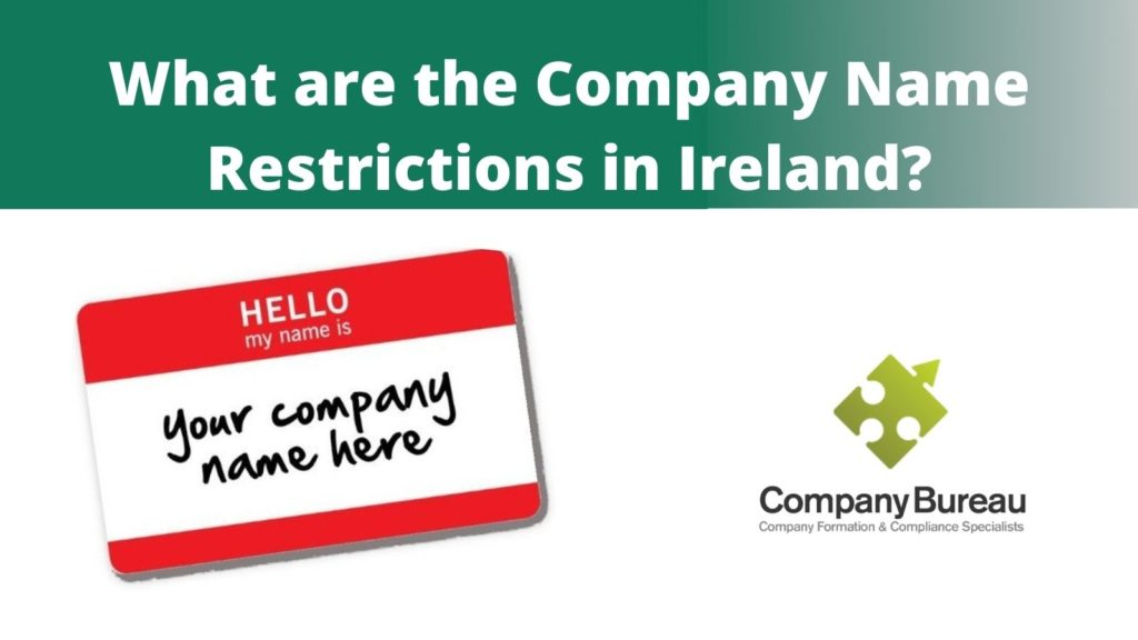 Irish Company Name Restrictions