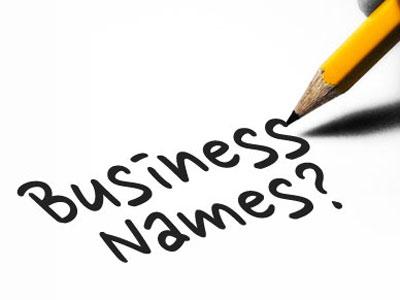Hvad skal mit firma hedde?