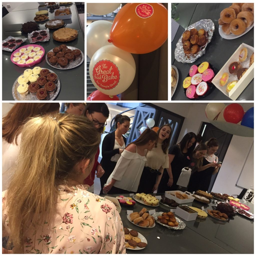 The Great Irish Bake for Temple Street Children's Charity