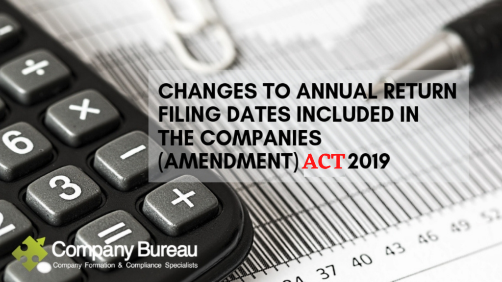 Companies Amendment ACT 2019