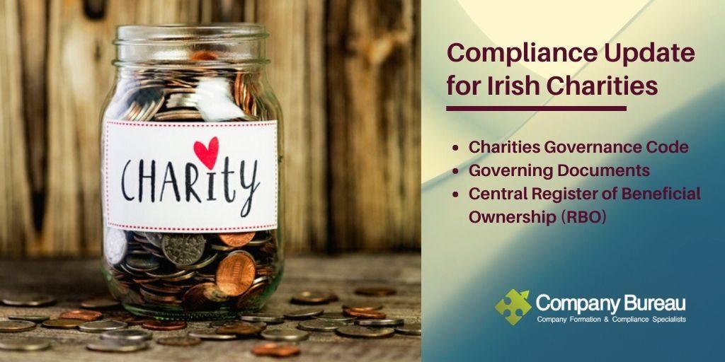 Compliance Update for Irish Charities