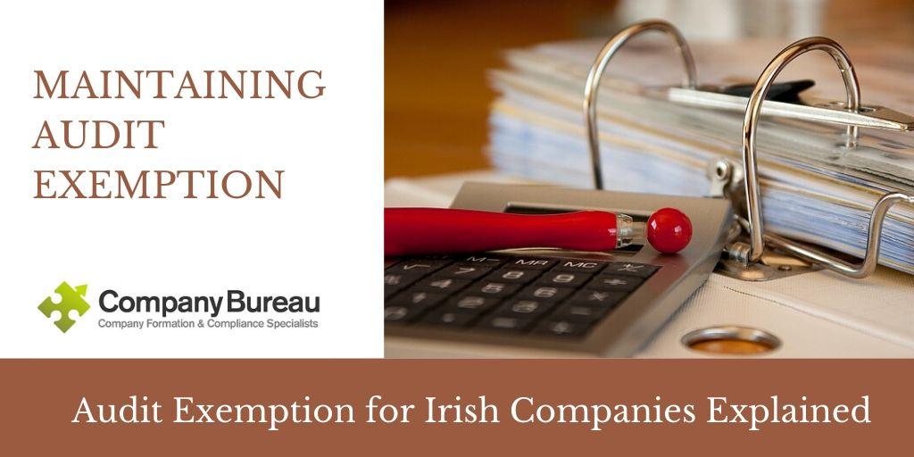 Audit Exemption for Irish Companies